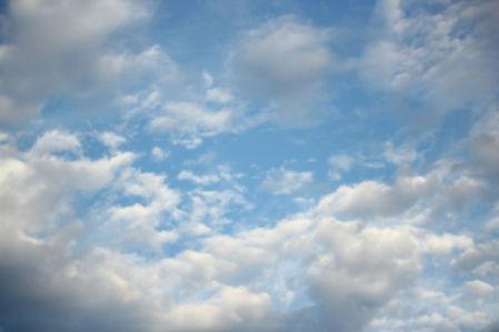 Фотообои небо с облаками днём (sky-0000087)
