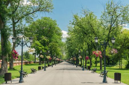 Фотообои Парк дворца Могошоая (sp6)