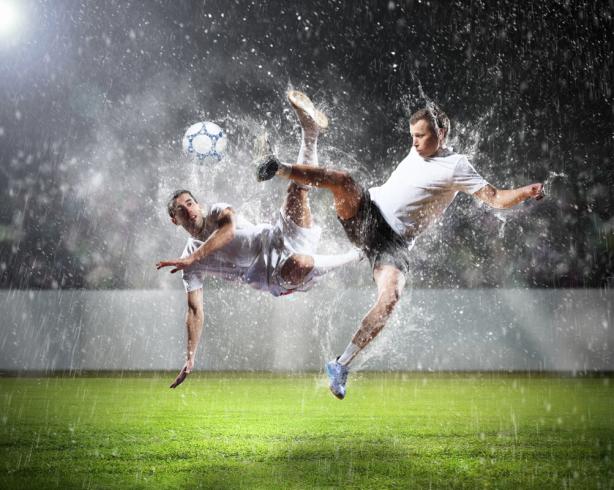 Фотообои футболисты (sport-0000129)