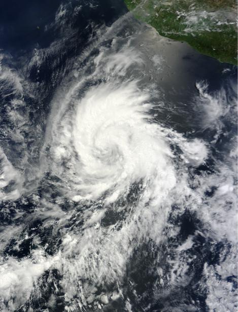 Фотообои облачная спираль (terra-00010)