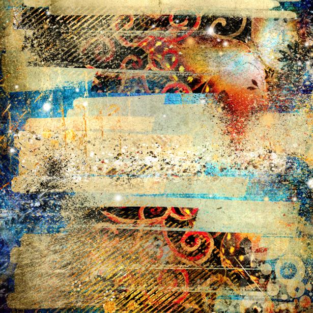 Фотообои коллаж абстрактный фон (background-0000082)