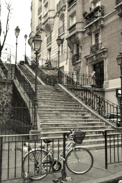 Фотообои Монмартр, Париж, Франция (city-0000202)