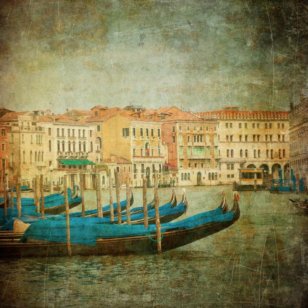 Фотообои Венеция ретро Италия (city-0000376)