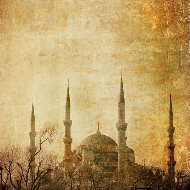 Фотообои Турция Стамбул мечеть (city-0000379)