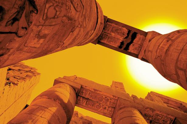 Фотообои искусство Карнакский храм (city-0000593)