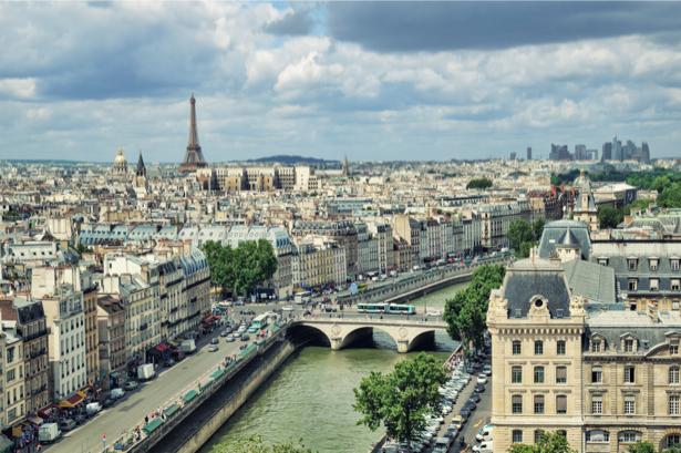 Фотообои Эйфелевая башня, Париж, Франция (city-0000678)