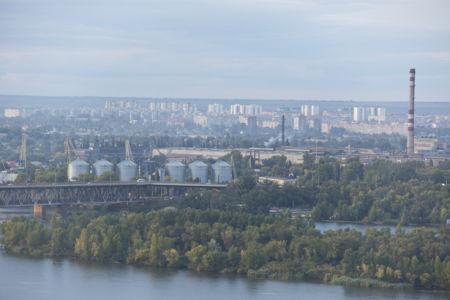 Фотообои Днепропетровск архитектура (city-0000960)