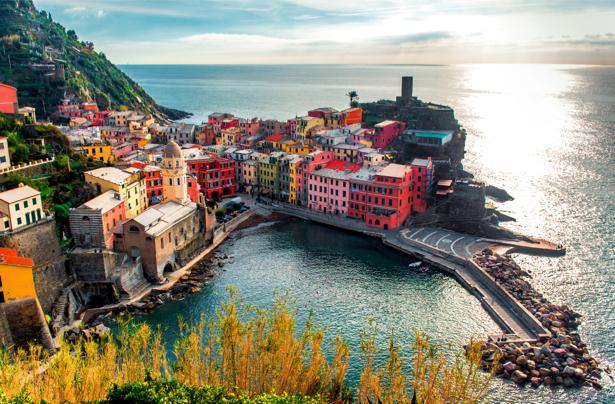 Фотообои остров Лигурия обои Италия (city-0001017)