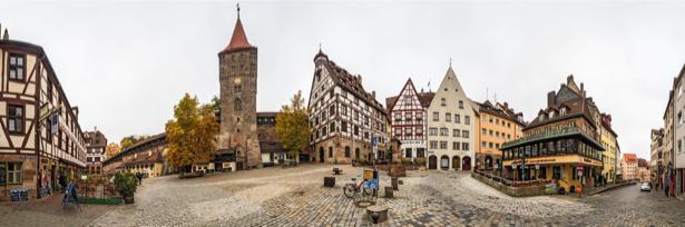 Фотообои замок Нюремберг (city-0001090)