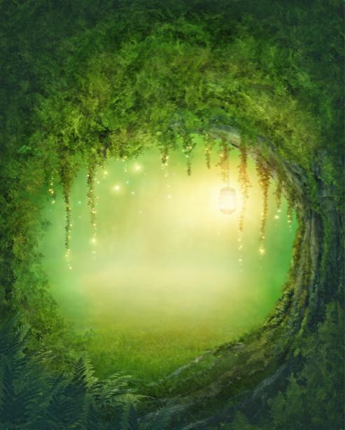Фотообои детские сказочный лес (fantasy-0000149)