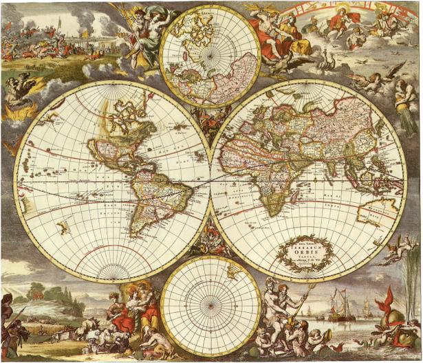 география, карты, старая карта (map-0000024)