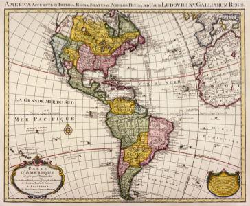 атлас, география, карты, старая карта (map-0000095)