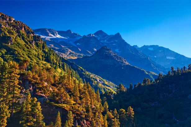 Фотообои горы фото панорама (nature-0000658)