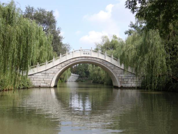 Фотообои с природой мост на реке (nature-00100)