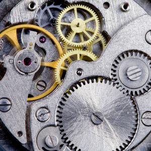Фотообои часовой механизм (retro-vintage-0000201)