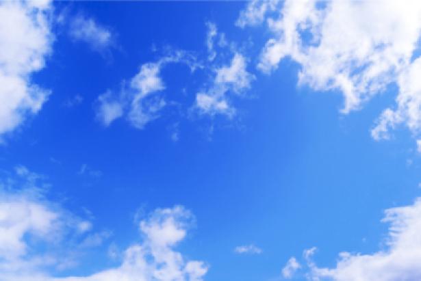Фото обои с облаками небо (sky-0000004)