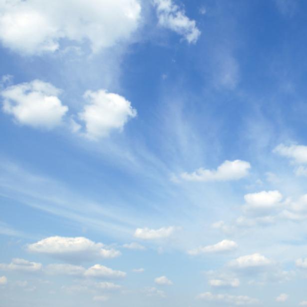 Фотообои панно небо днём лучи солнца (sky-0000021)