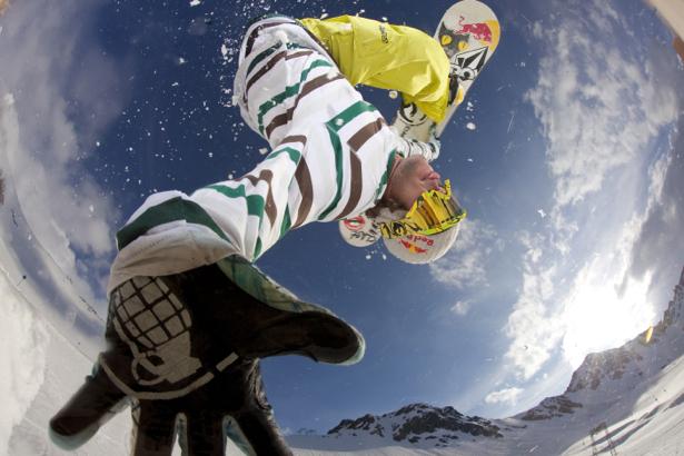 Фотообои сноубордист (sport-0000010)