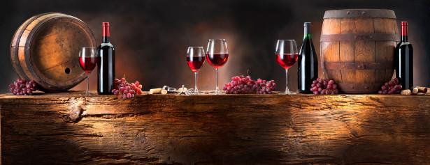 Фотообои горизонтальные натюрморт с вином (still-life-0032)
