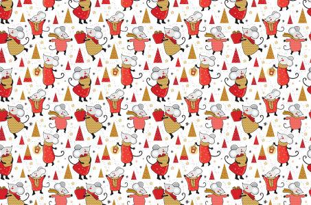 Скатерть Веселая мышка (218)