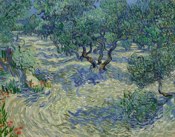Ван Гог пейзаж (art-0000225)