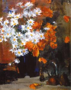На стену фотообои Натюморт с цветами (art-0000327)