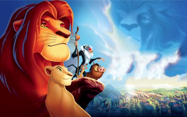 Фотообои мультфильм Король Лев (children-0000149)