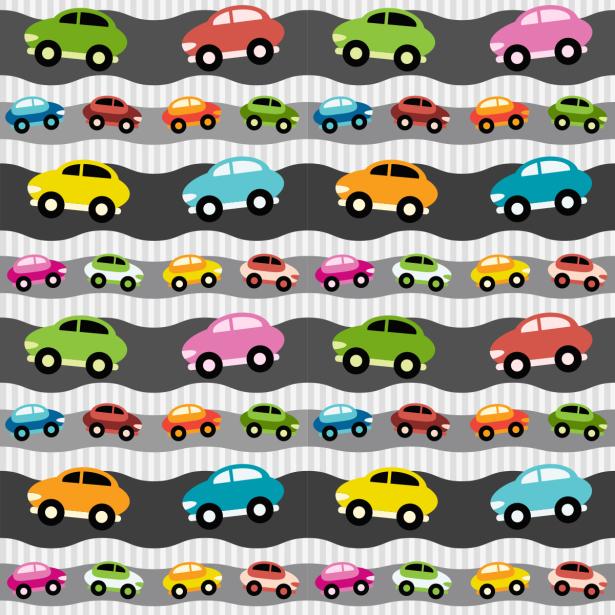 Фотошторы цветные машинки (children-curtain-00017)