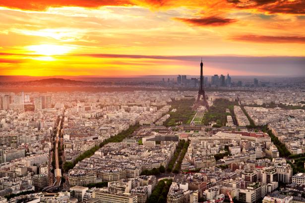 Фотообои город, Париж, Франция, Эйфелева башня, (city-0000273)