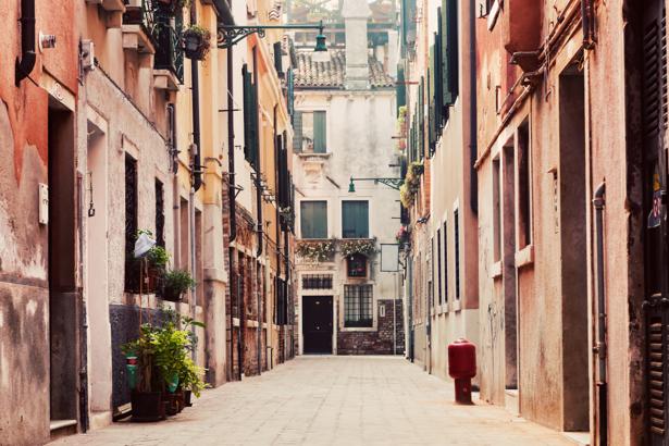 Фотообои Италия итальянские улочки (city-0001223)