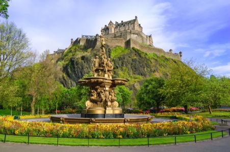 Фотообои Эдинбургский замок (city-0001404)