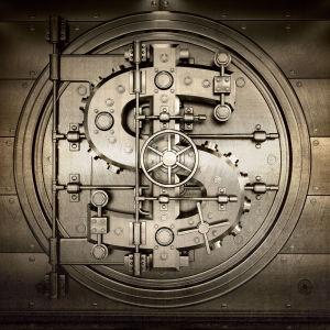 Фотообои Долларовая дверь (door2)