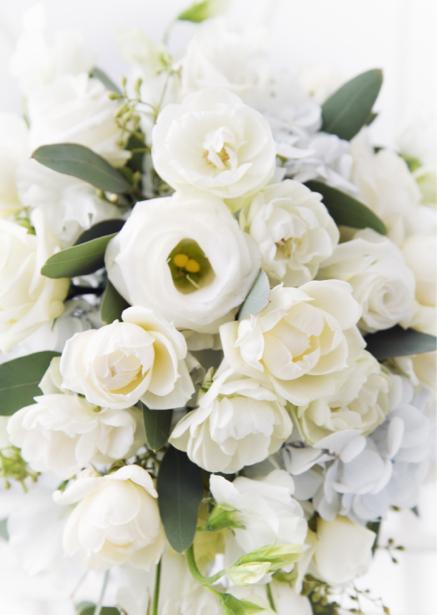 Букет белых роз фотообои на стену цветы (flowers-0000100)