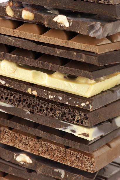 Фотообои для кухни Плитка шоколада (food-0000171)
