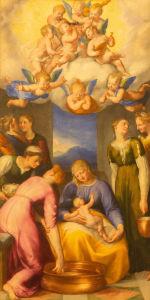 Фотообои Очищение Богоматери (fresco-007)