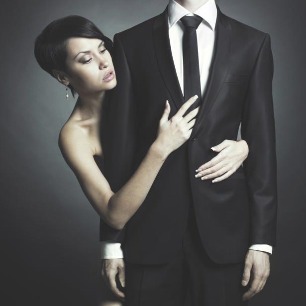 Фотообои девушка и  мужчина (glamour-0000050)