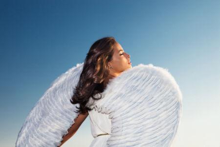 Фотообои девушка ангел обаяние (glamour-0000284)