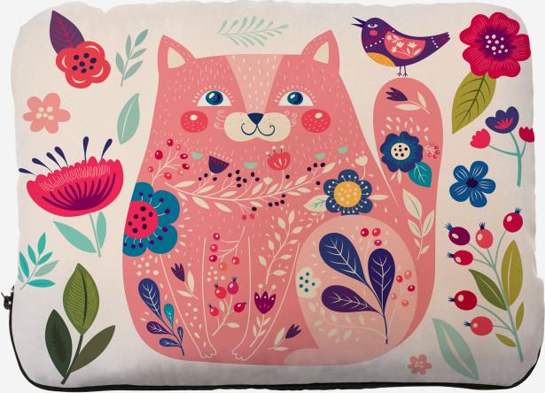 Подушка Розовый котик (kote-8)