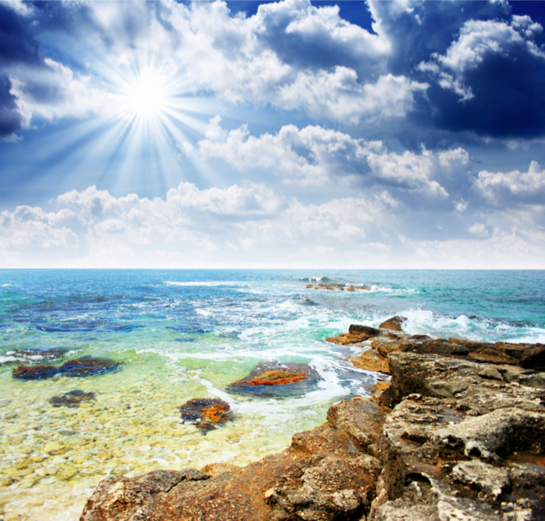 Фотообои с природой морской берег (nature-00130)