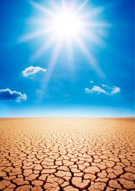 Фотообои солнце растрескавшаяся земля (nature-00268)