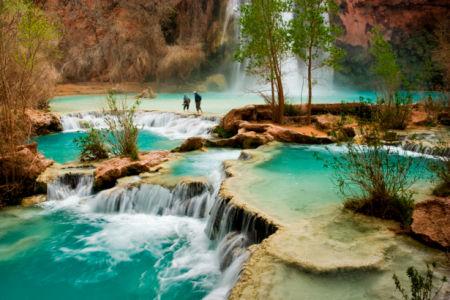 Фотообои с природой водопад каскады (nature-00289)