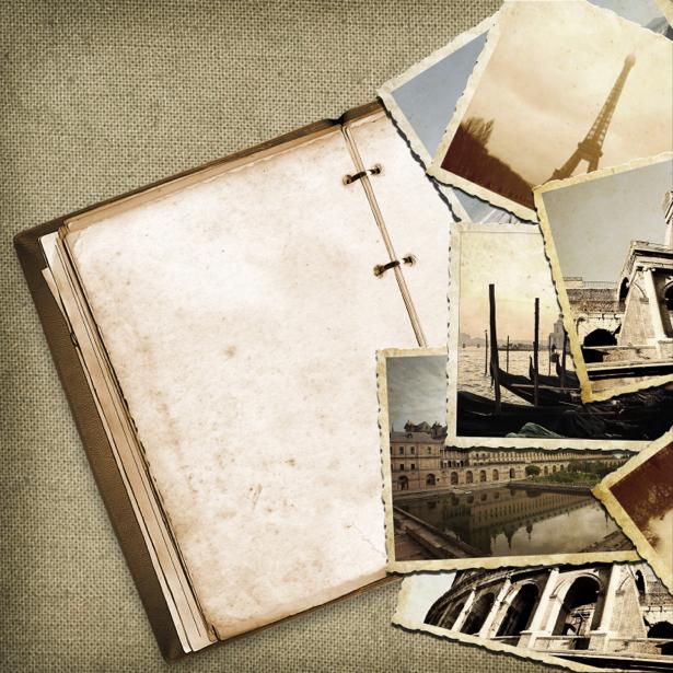 Фотообои ретро винтаж композиция (retro-vintage-0000191)