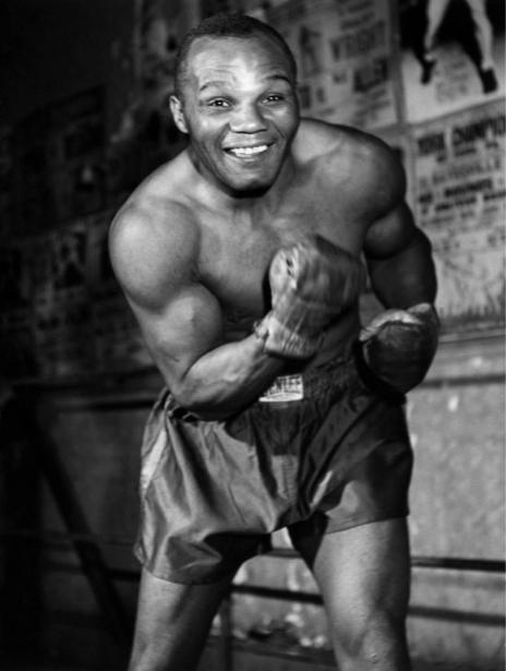 Джо Уолкотта, боксер (retro-vintage-0000294)