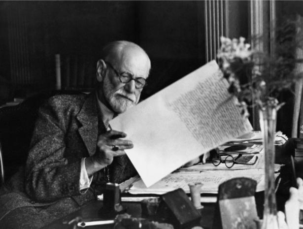 Зигмунд Фрейд, австрийский психолог и невролог (retro-vintage-0000308)