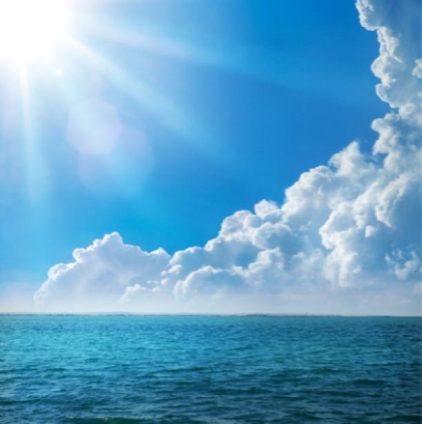 Фотообои фото море облака (sea-0000073)