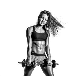 Фотообои женский фитнес (sport-173)