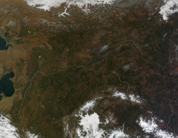 Фотообои на стену земля с верху (terra-00191)