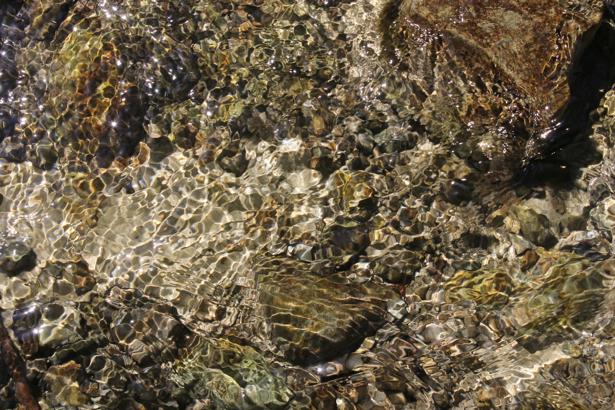 Фотообои для ванны река и камни (underwater-world-00116)