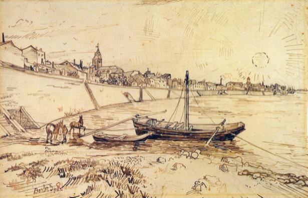 Ван Гог, графика (art-0000162)