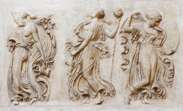 Фотообои Греция собрание богов (background-0000282)